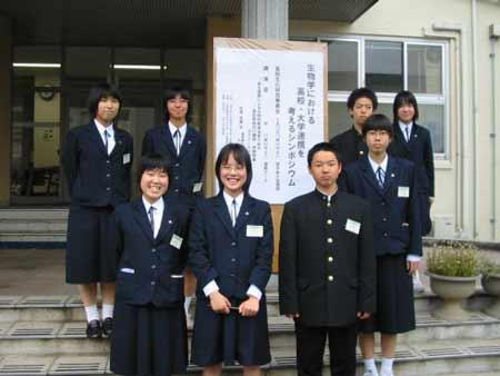 小倉東高等学校制服画像